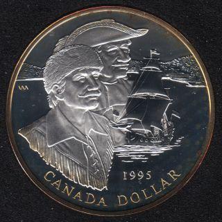 1995 - Proof - Argent  - Canada Dollar