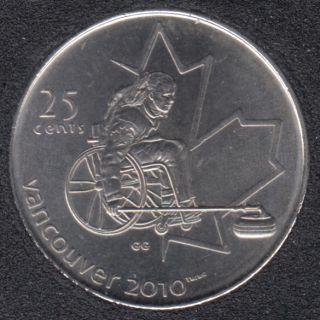2007 - #5 B.Unc - Curling en Fauteuil Roulant - Canada 25 Cents