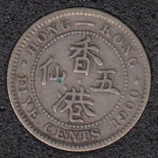 1900 H - 5 Cents - Hong Kong