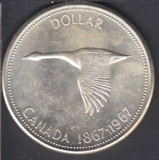 1967 - UNC - Canada Dollar
