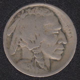 1913 S - Indian Head - Variety '2' - 5 Cents