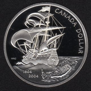 2004 - Proof - Argent Fin - Canada Dollar