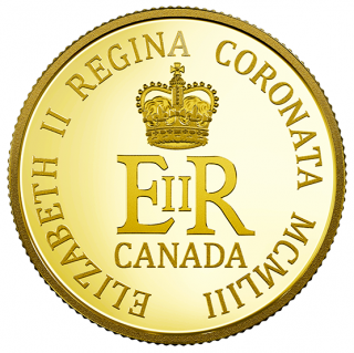 2018 - $10 - 1/4 oz. Pure Gold Coin - 65th Anniversary of the Coronation of Her Majesty Queen Elizabeth II