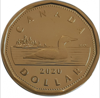 2020 - Proof - Canada Huard Dollar