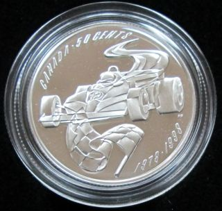 1998 - Auto Racing - Proof - 50 Cents Sports - Gilles Villeneuve
