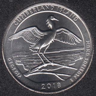 2018 D - Cumberland Island - 25 Cents
