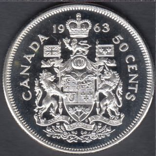 1963 - Proof Like - Canada 50 Cents