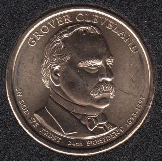 2012 D - G. Cleveland - Second Term - 1$