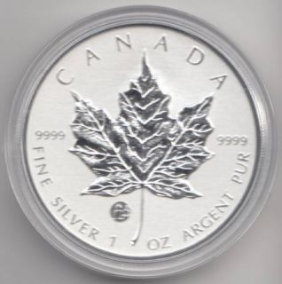 2012 - $5 - PRIVY MARK F15 ** FABULOUS 15 ** NO TAX!! SILVER MAPLE LEAF 5$ PURE 99,99%