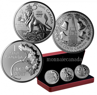 2017 - 1 oz. Pure Silver 3-Coin Set - Royal Canadian Mint Coin Lore: The Forgotten 1927 Designs