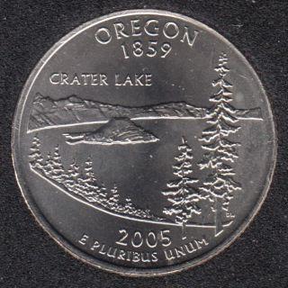 2005 D - B.Unc - Oregon - 25 Cents