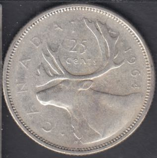 1964 - Canada 25 Cents