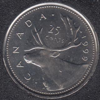 1999 P - NBU - Canada 25 Cents