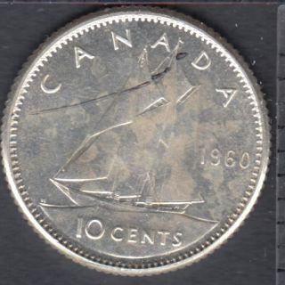 1960 - B.Unc - Canada 10 Cents