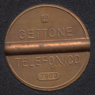 Telephone - Gettone - Telefonico (7909) - Jeton