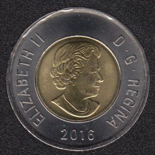 2016 - B.Unc - Canada 2 Dollars
