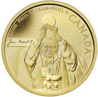 2014 - $25 - Fine Gold Coin - Pope John Paul II