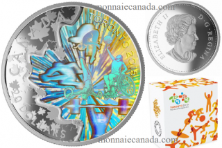 1 oz. Fine Silver Hologram Coin - TORONTO 2015™ Pan Am and Parapan Am Games