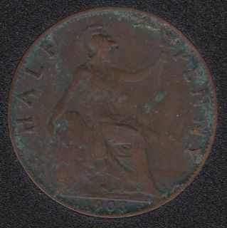 1903 - Half Penny - Great Britain