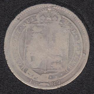 1887 - Shilling - Grande Bretagne