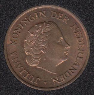 1958 - 5 Cents - B.Unc - Pays-Bas