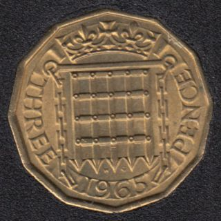 1965 - 3 Pence - Great Britain