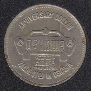 1974 - Oshawa 'Moto-Vates' - 1924 1974 Golden Anniversary $1