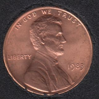 1983 - B.Unc - Lincoln Small Cent