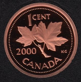 2000 - Proof - Canada Cent