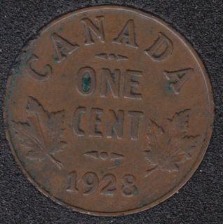 1928 - Canada Cent