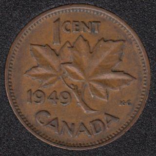 1949 - Canada Cent