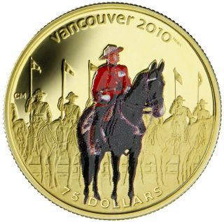 2007 Canada $75 Dollars Or 14 Carats - GRC -  Olympique Vancouver 2010 - APPELER POUR COMMANDER
