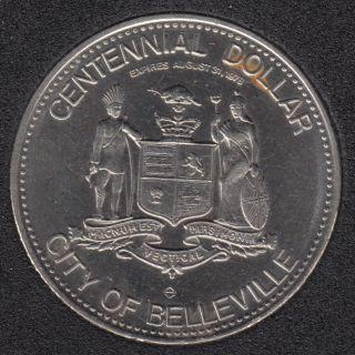 1978  - Belleville 1878 1978 - Centennial $1
