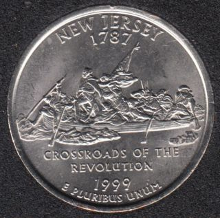 1999 P - New Jersey - 25 Cents