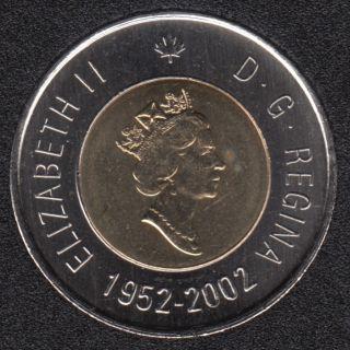 2002 - 1952 - B.Unc - Canada 2 Dollars