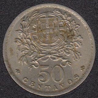 1957 - 50 Centavos - Unc - Portugal