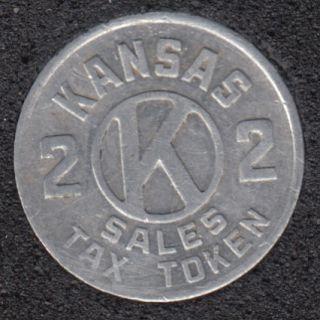 Sales Tax - Kansas 2 Tax Token