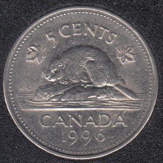 1996 - Far '6' - Canada 5 Cents