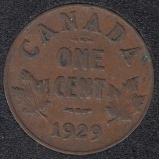1929 - Canada Cent