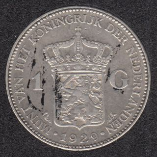 1929 - 1 Gulden - Netherlands