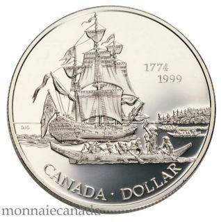 1999 Canada PROOF Silver Dollar  Perez