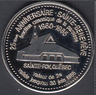 Sainte-Geneviève (Ste-Foy) - 1985 - Groupe Scout - Guide - $2 Trade Dollar