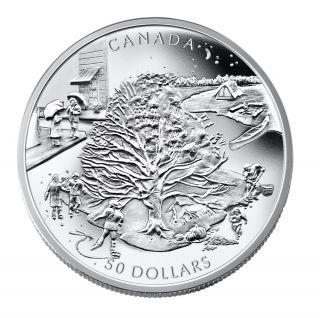 2006 - $50 - 5oz Silver 'Four Seasons'