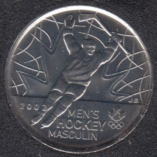 2009 - #4 B.Unc - Men's Hockey - Canada 25 Cents