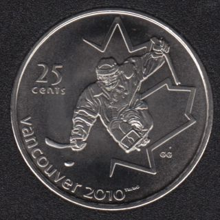 2009 - #3 NBU - Le Hockey sur Luge - Canada 25 Cents