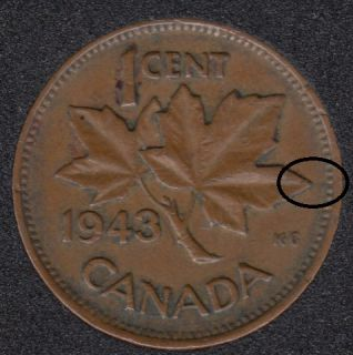1943 - Break ML to Rim - Canada Cent