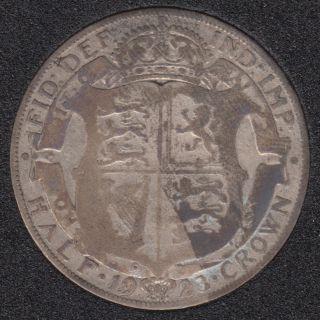 1923 - Half Crown - Grande Bretagne