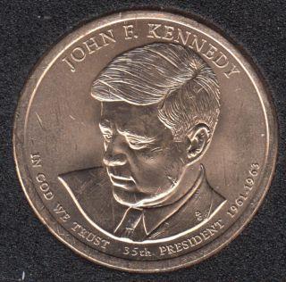 2015 P - J.F. Kennedy - 1$