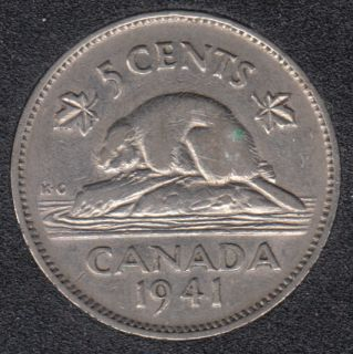 1941 - Canada 5 Cents