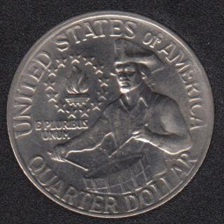 1976 - 1776 - Washington - B.Unc - 25 Cents